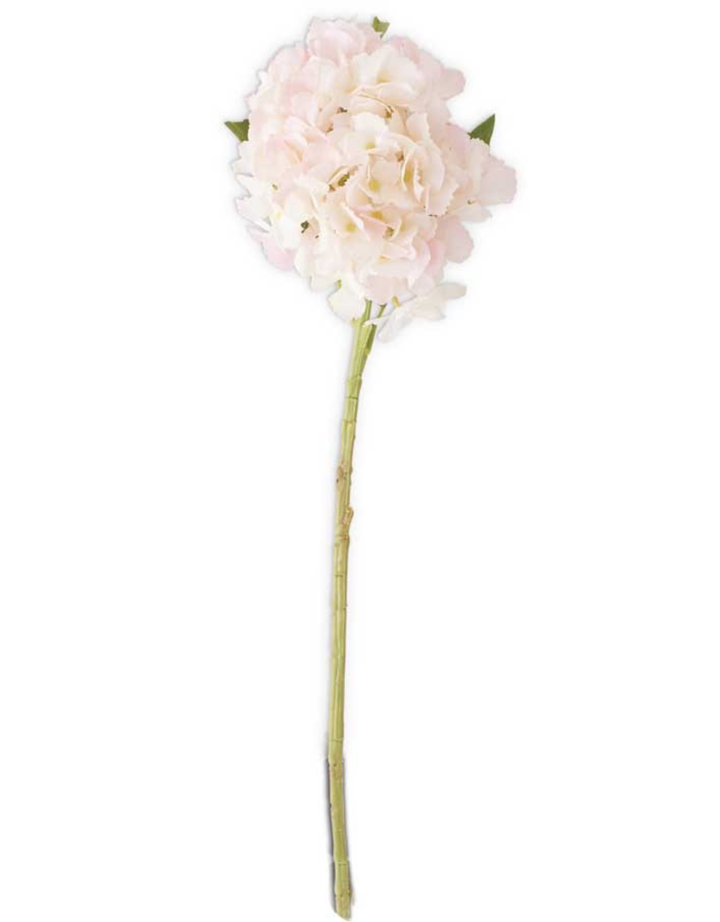 20 inch Pink Real Touch Hydrangea Spray