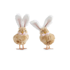 """K&K Interiors K&K 10"""" Fluffy Standing Chicks"""