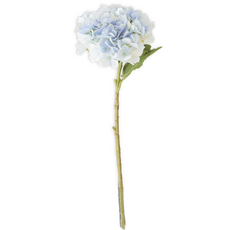 "K&K Interiors K&K 20""  Blue Real Touch Hydrangea Spray"