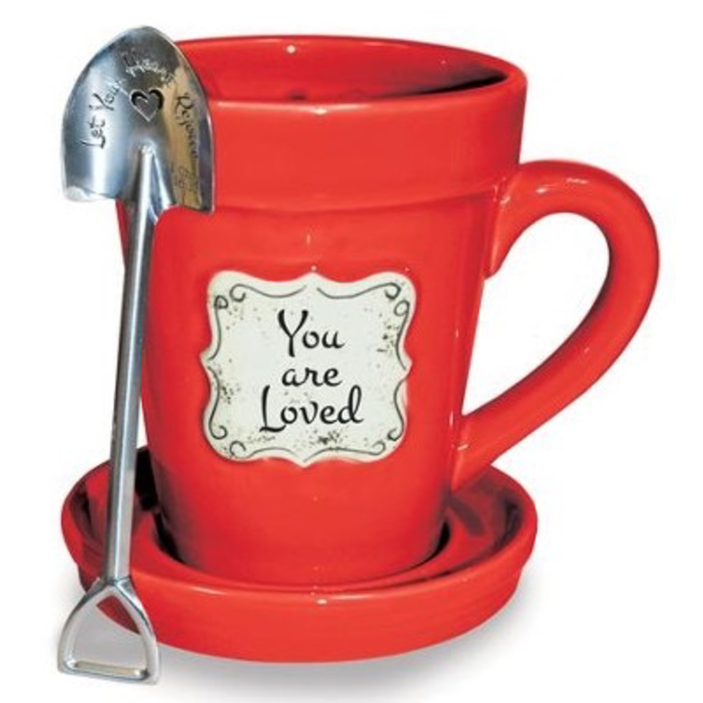 Flower Pot Mug/Loved