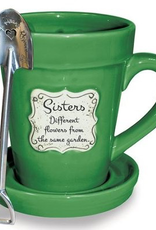 Flower Pot Mug/Sisters