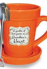 Flower Pot Mug/Grandma
