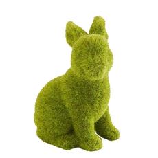 """K&K Interiors K&K 4.5"""" Mossy Sitting Bunny"""