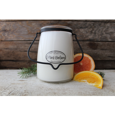 Milkhouse Candle Creamery Milkhouse Candle Creamery Butter Jar 22 oz:  Citrus Balsam