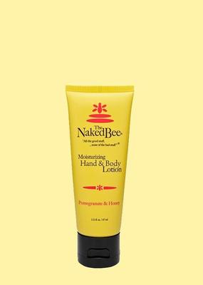The Naked Bee The Naked Bee - Pomegranate & Honey Hand & Body Lotion 2.25 oz.