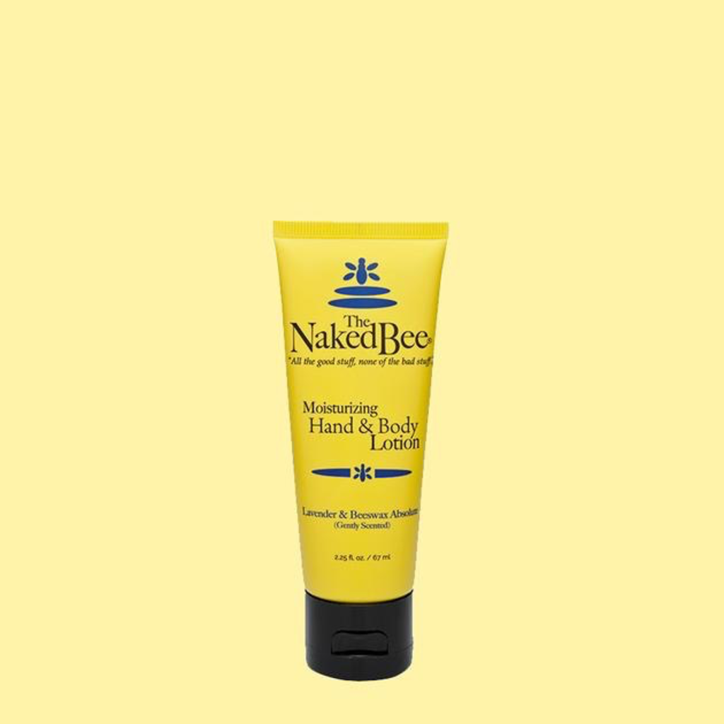 The Naked Bee The Naked Bee Hand & Body Lotion 2.25 oz.  - Lavender & Beeswax