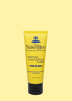 The Naked Bee The Naked Bee - Lavender & Beeswax Hand & Body Lotion 2.25 oz.