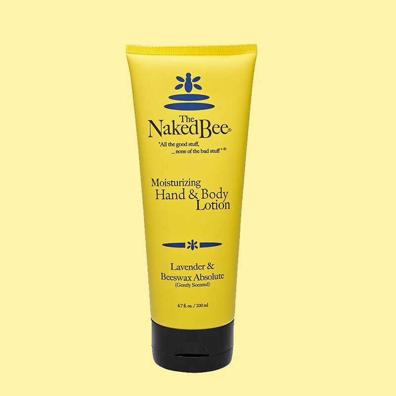 The Naked Bee Hand & Body Lotion 6.7 oz. - Lavender & Beeswax