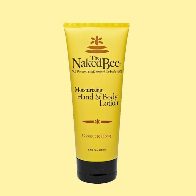 The Naked Bee Hand & Body Lotion 6.7 oz.  - Coconut & Honey