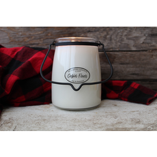Milkhouse Candle Creamery Milkhouse Candle Creamery Butter Jar 22 oz:  Cabin Fever