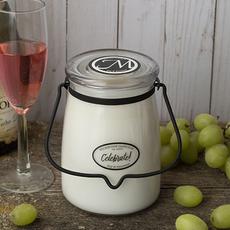 Milkhouse Candle Creamery Milkhouse Candle Creamery Butter Jar 22 oz:  Celebrate!