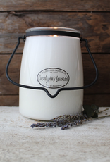 Milkhouse Candle Creamery Milkhouse Candle Creamery Butter Jar 22 oz:  Eucalyptus Lavender
