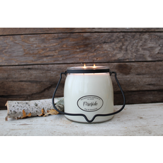 Milkhouse Candle Creamery Milkhouse Candle Creamery Butter Jar 16 oz:  Fireside