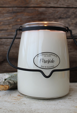 Milkhouse Candle Creamery Milkhouse Candle Creamery Butter Jar 22 oz:  Fireside