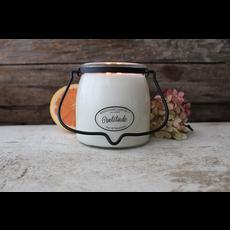 Milkhouse Candle Creamery Milkhouse Candle Creamery Butter Jar 16 oz:  Gratitude