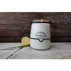 Milkhouse Candle Creamery Milkhouse Candle Creamery Butter Jar 22 oz:  Lemongrass Tea