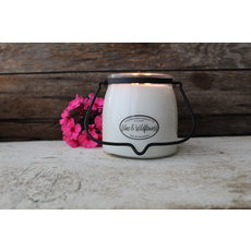 Milkhouse Candle Creamery Milkhouse Candle Creamery Butter Jar 16 oz:  Lilac & Wildflowers