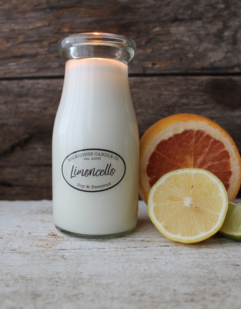 Milkhouse Candle Creamery Milkhouse Candle Creamery Milk Bottle:  Limoncello
