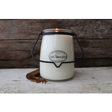 Milkhouse Candle Creamery Milkhouse Candle Creamery Butter Jar 22 oz:  Sweet Tobacco Leaves