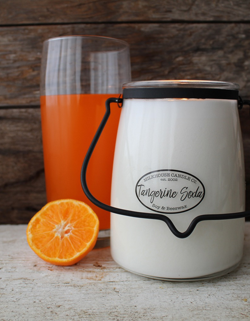 Milkhouse Candle Creamery Milkhouse Candle Creamery Butter Jar 22 oz:  Tangerine Soda