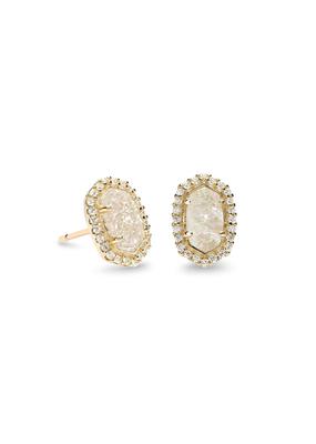 Kendra Scott Kendra Scott Cade Earring Gold Iridescent Drusy