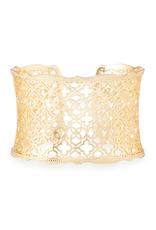 Kendra Scott Kendra Scott Candice Bracelet Gold Filigree Metal