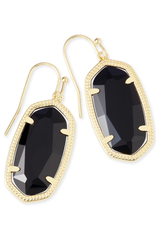 Kendra Scott Kendra Scott Dani Earring Black Gold