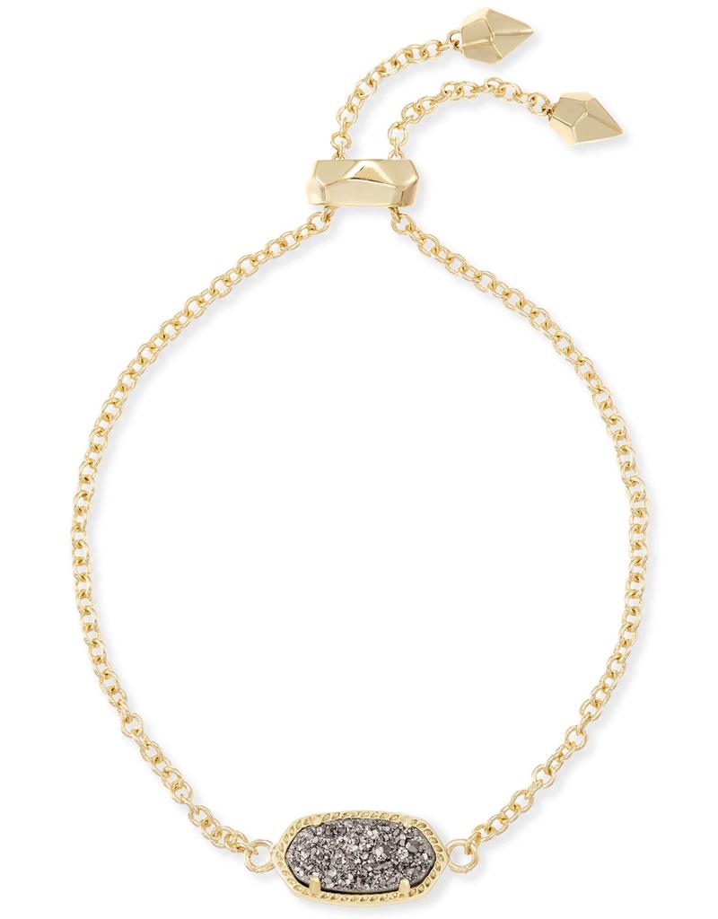 Kendra Scott Kendra Scott Elaina Gold Platinum Drusy Bracelet