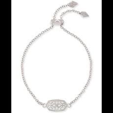 Kendra Scott Kendra Scott Elaina Adjustable Bracelet in Silver Filigree