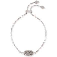 Kendra Scott Kendra Scott Elaina Bracelet in Silver Platinum Drusy