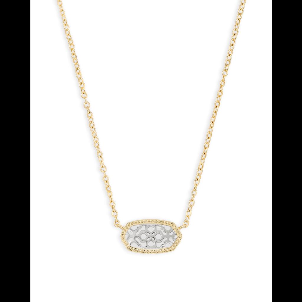 Kendra Scott Kendra Scott Elisa Necklace in Gold & Silver Filigree
