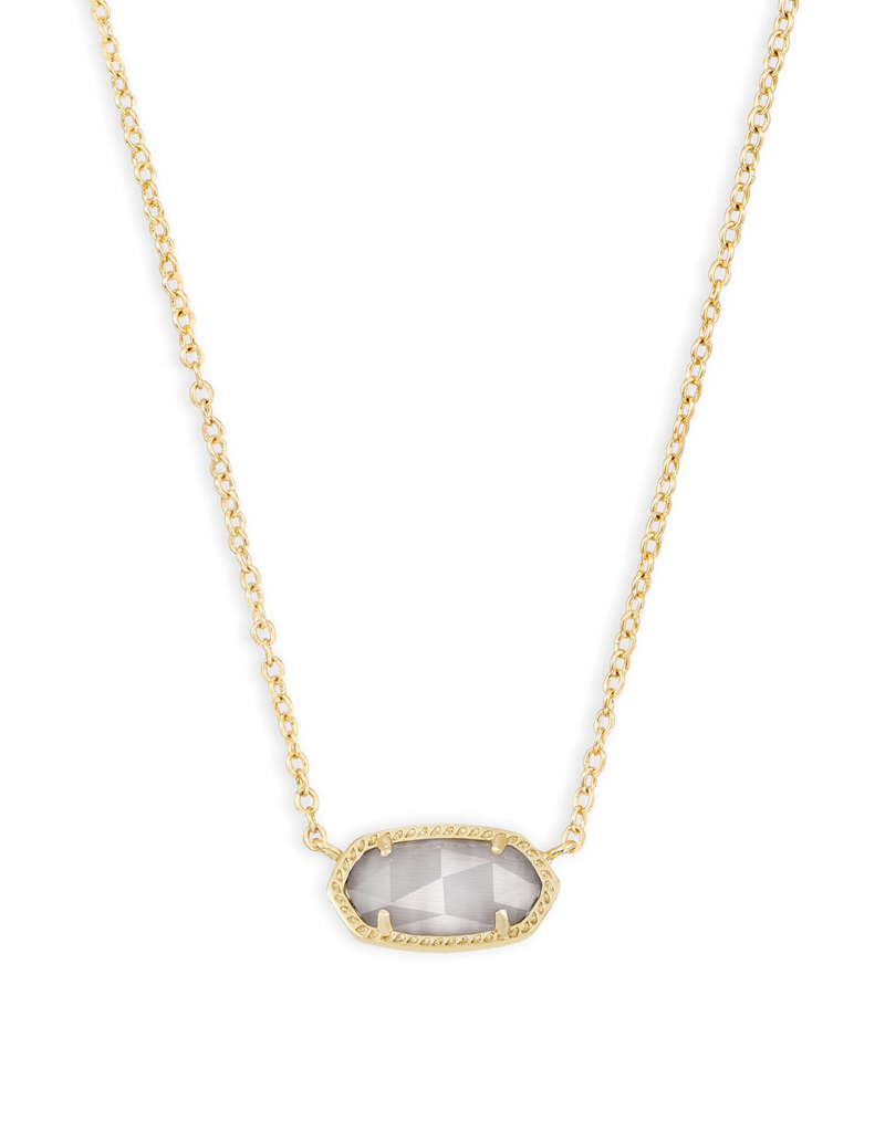 Kendra Scott Kendra Scott Elisa Gold & Slate Cat's Eye Necklace