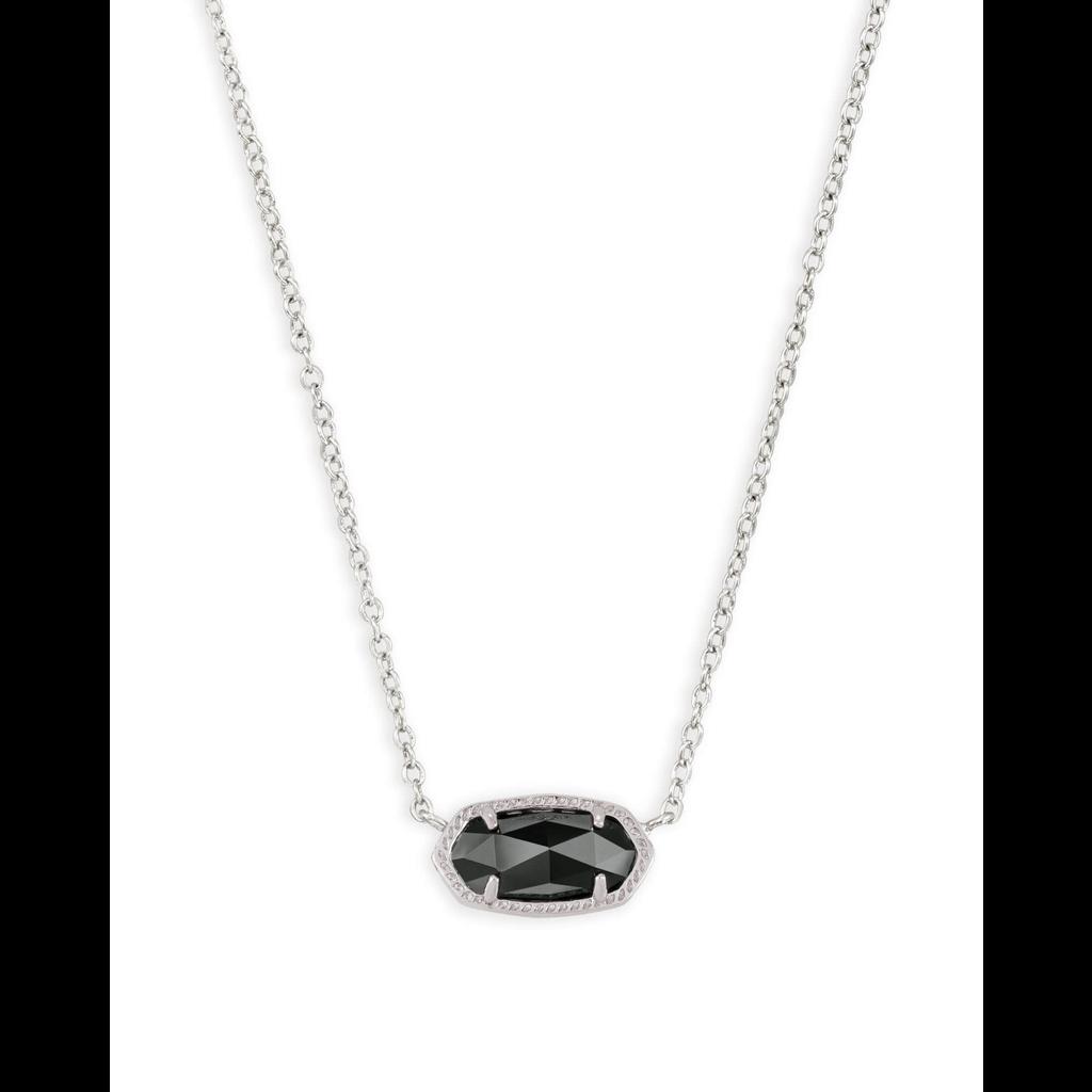 Kendra Scott Kendra Scott Elisa Necklace in Silver & Black