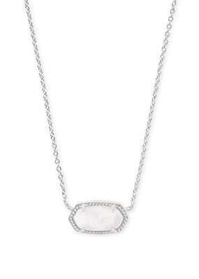 Kendra Scott Kendra Scott Elisa Silver & White MOP Necklace