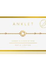 Katie Loxton Anklet Gold Sun