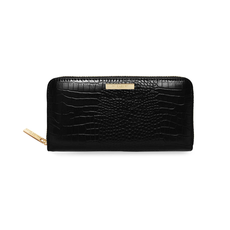 Katie Loxton Celine Large Croc Purse - Black