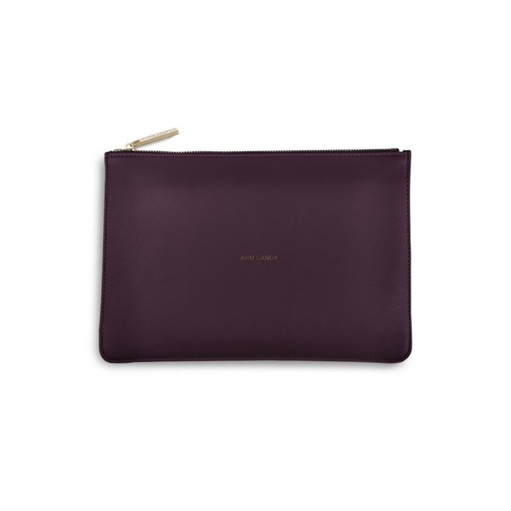 Katie Loxton The Perfect Pouch - Arm Candy -Burgandy