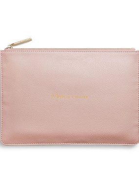 Katie Loxton Perfect Pouch - Mom in a Million - Pale Pink