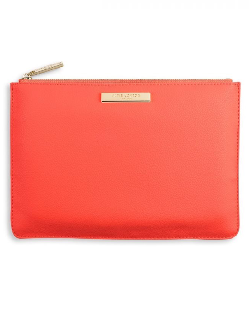 Katie Loxton Pebble Perfect Pouch - Coral