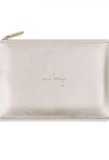 Katie Loxton Pebble Perfect Pouch - Hello Lovely - White