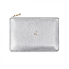 Katie Loxton Pebble Perfect Pouch - Oh So Chic - Silver
