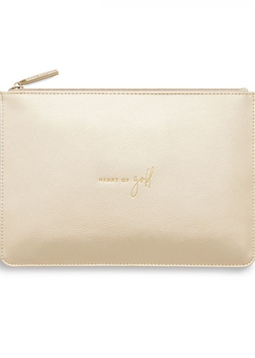 Katie Loxton Perfect Pouch - Heart of Gold