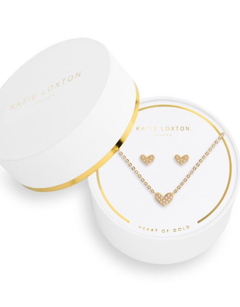 Katie Loxton Sentiment Set Heart of Gold
