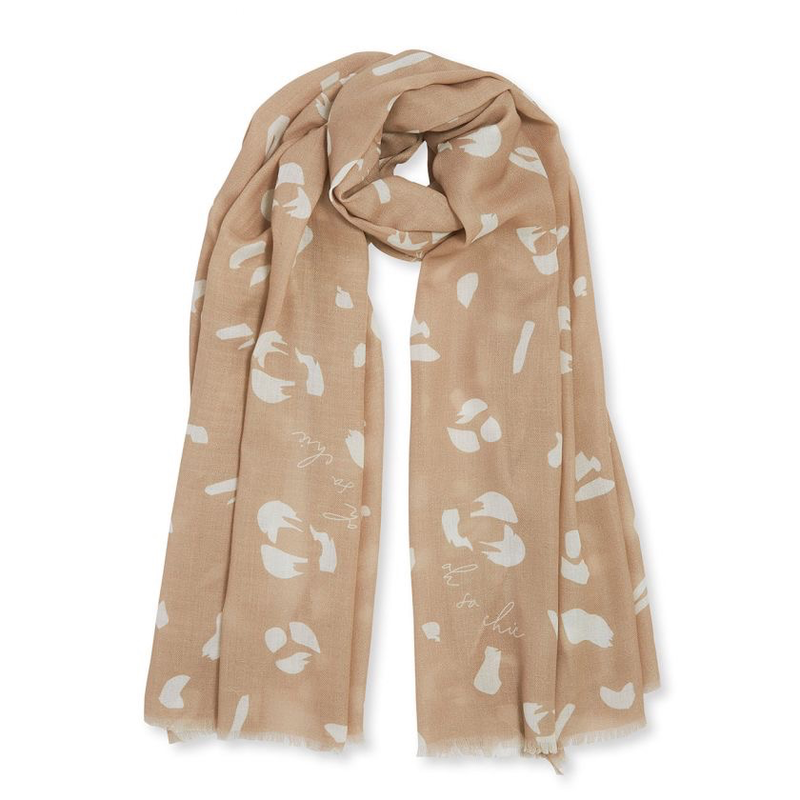 Sentiment Scarf - Oh So Chic - Taupe