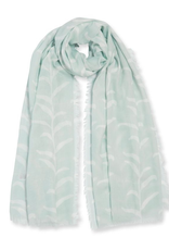 Katie Loxton Sentiment Scarf - Life is Beautiful - Sage