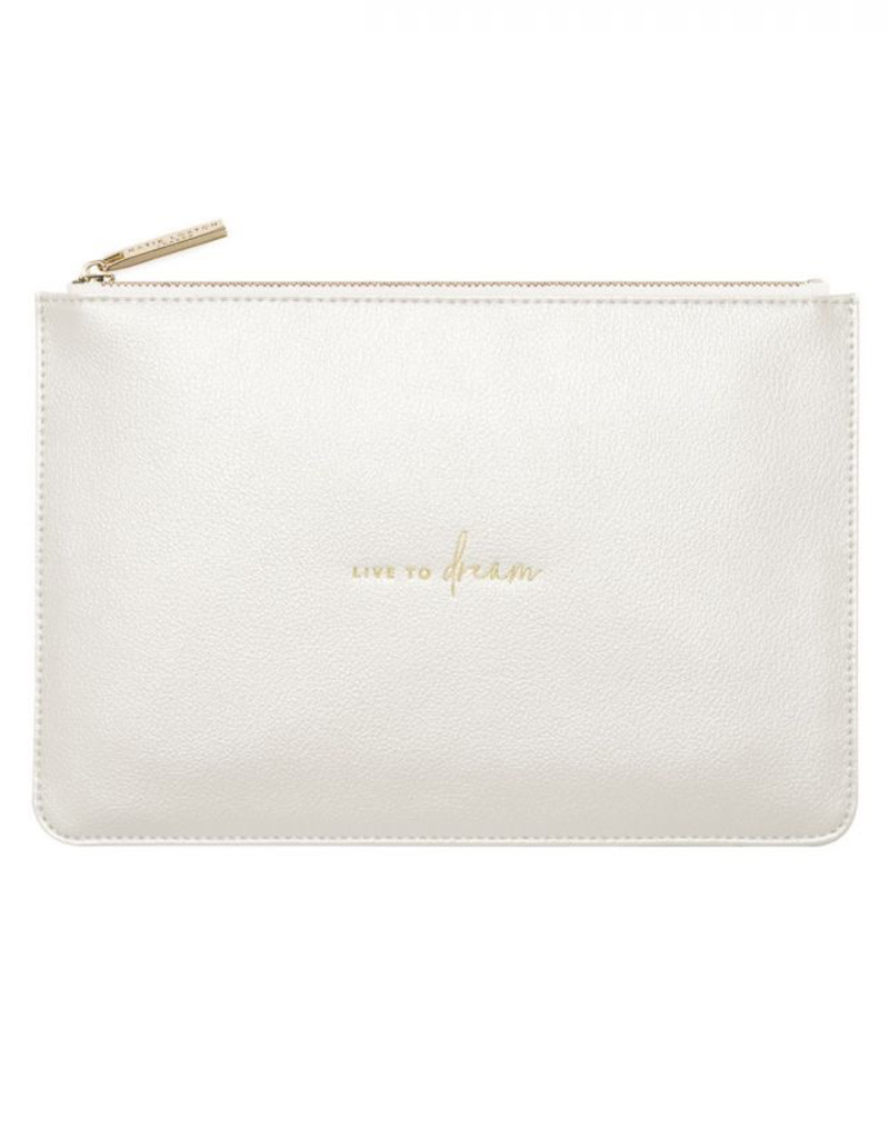 Katie Loxton Perfect Pouch - Live to Dream