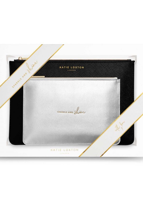 Katie Loxton Perfect Pouch Gift Set - Sparkle and Shine