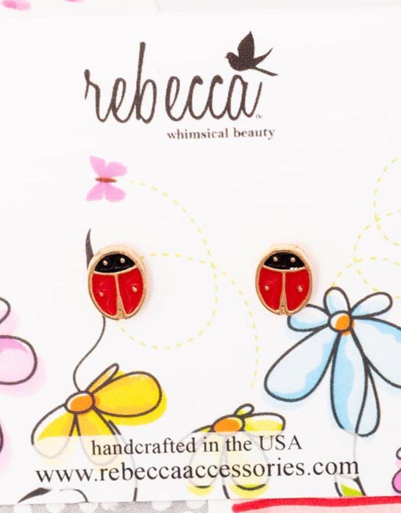Rebecca Ladybug Earring