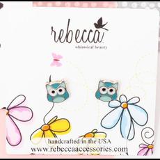 Rebecca Owl Earring