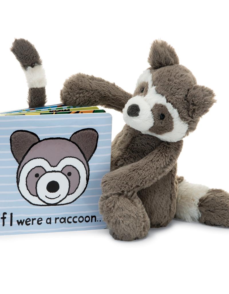 Jellycat Jellycat If I Were a Raccoon Book
